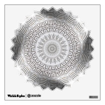 METAL Element Kaleido Pattern Wall Decal