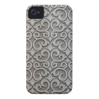 Metal embroidering iPhone 4 Case-Mate case
