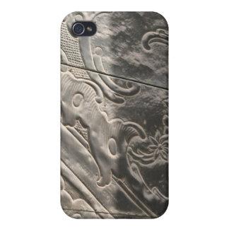 Metal equipado, sombreado iPhone 4/4S carcasa