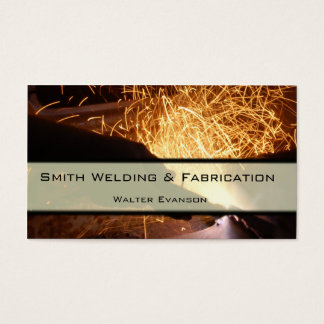 Metal Fabrication and Welding Business Card