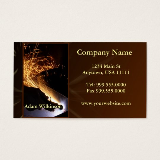Metallic Fabricator Company Mexico: Metal Fabrication Business Card