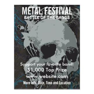 Metal Festival Music Flyer