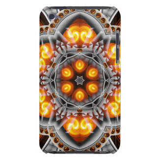 Metal & Flame Mandala Barely There iPod Cover