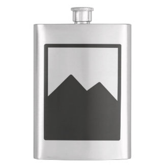 Metal Flask Template