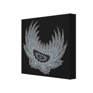 Metal floreciente de las alas lona estirada galerias