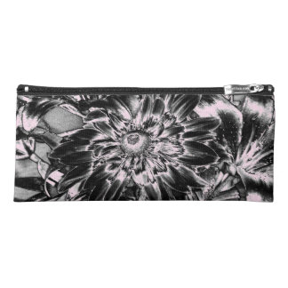 Metal Flowers Pencil Case