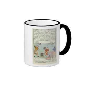 Metal forge, from 'Shah-Nameh Coffee Mug