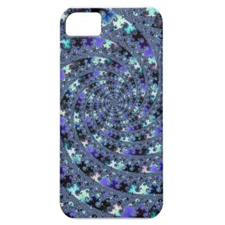 Metal Fractal Time Machine iPhone5 Case