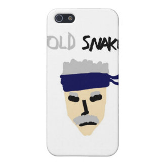 Metal Gear Solid 4 Guns of the Patriots Old Snake iPhone 5/5S Case
