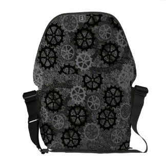 Metal Gears Messenger Bag
