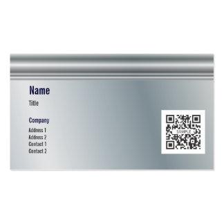 Metal genérico de la plantilla de la tarjeta de vi plantilla de tarjeta de negocio