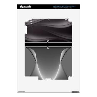 Metal Girly Heart Monogram iPad 3 Skin