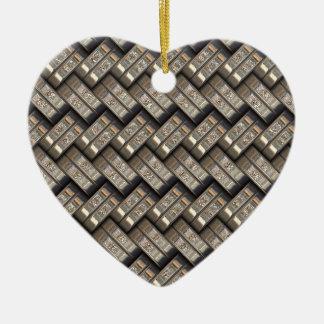 metal gloss-struggles ceramic ornament