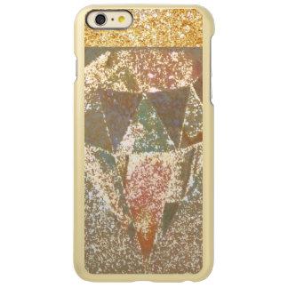metal golden dimond art incipio feather shine iPhone 6 plus case