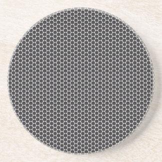 Metal Grate Mesh Sandstone Coaster