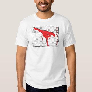 metal grate on white T-Shirt