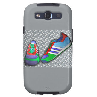 Metal Grate Sport Shoe Samsung Galaxy S3 Cases