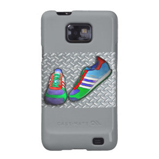 Metal Grate Sport Shoe Samsung Galaxy S Cover