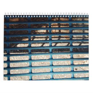 Metal Grate Calendar