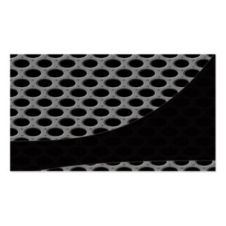 Metal Grating Card Double-Sided Standard Business Cards (Pack Of 100)