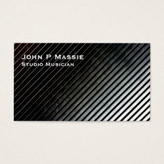 Metal grid business card