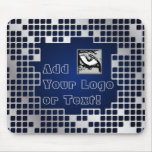 Metal Grid Mousepad with Space