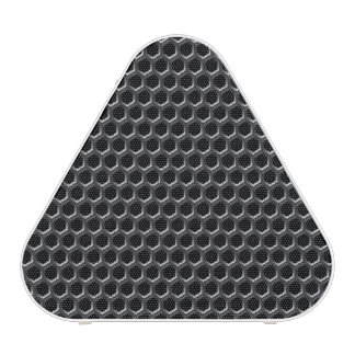Metal grid pattern - background bluetooth speaker