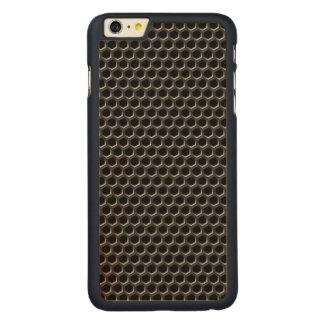 Metal grid pattern - background carved® maple iPhone 6 plus slim case