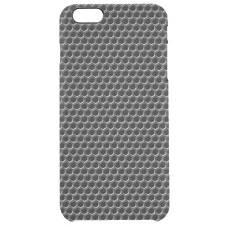 Metal grid pattern - background clear iPhone 6 plus case