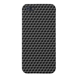 Metal grid pattern - background cover for iPhone SE/5/5s