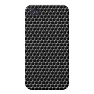 Metal grid pattern - background covers for iPhone 4