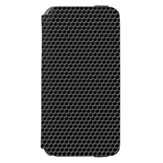 Metal grid pattern - background iPhone 6/6s wallet case