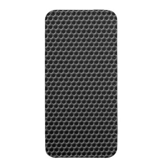 Metal grid pattern - background iPhone SE/5/5s/5c pouch
