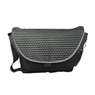 Metal Grid Shoulder Bag Messenger Bag