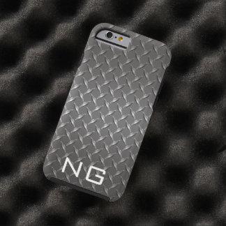 Metal Grill grating Custom Monogram Tough iPhone 6 Case