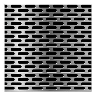 Metal Grille Poster