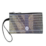 Metal ground coin purse
