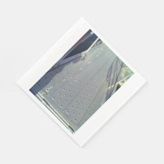 Metal ground road standard luncheon napkin