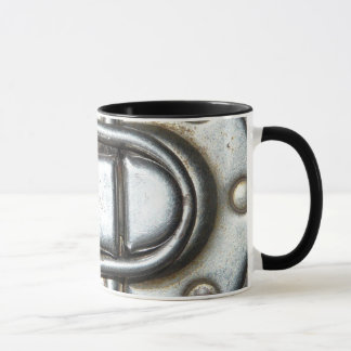 Metal Grunge Latch Mug