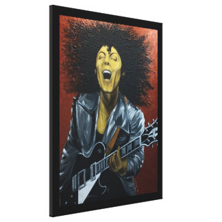 Metal Guru/Golden Boy Canvas print