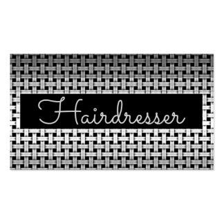 Metal Hairdresser Business Card