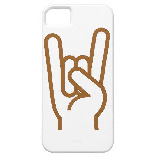 Metal Hand iPhone 5 Case