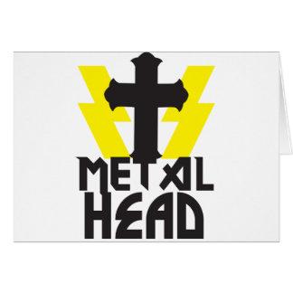METAL HEAD CARD