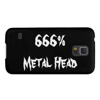 Metal Head Case For Galaxy S5