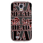 Metal Head For Life Galaxy S4 Cover