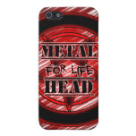 Metal Head For Life iPhone 5 Cases