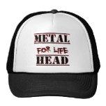 Metal Head For Life Mesh Hat
