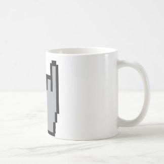 metal-head icon classic white coffee mug