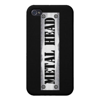 Metal Head Case For iPhone 4