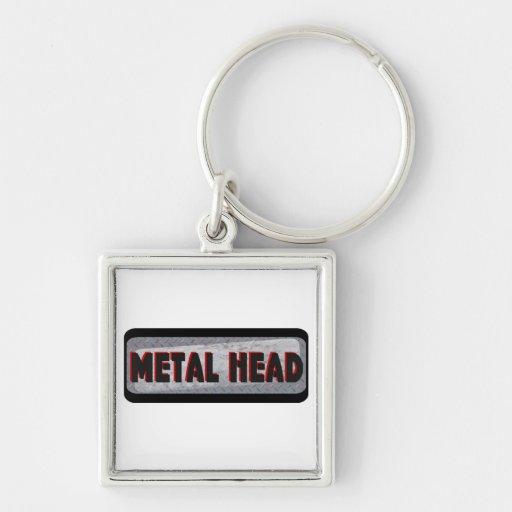 Metal Head Keychains